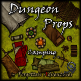 Dungeon-Props-Camping