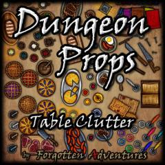 Dungeon-Props-Table-Clutter