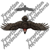 Giant_Bearded_Vulture_Large_Beast_02_Watermark