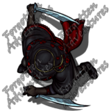 HalfElf_Female_Rogue_Swords_01_Watermark