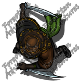 HalfElf_Female_Rogue_Swords_04_Watermark
