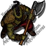 HalfOrc_Male_Barbarian_Greataxe_01_Watermark