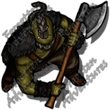 HalfOrc_Male_Barbarian_Greataxe_02_Watermark