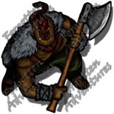 HalfOrc_Male_Barbarian_Greataxe_05_Watermark