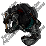 Trollkin_Male_Ranger_Handaxe_Shield_01_Watermark