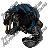 Trollkin_Male_Ranger_Handaxe_Shield_03_Watermark