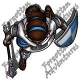 Elf_Cleric_Mace_Shield_01_Watermark